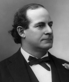 William Jennings Bryan, 3 time Democrat presidential candidate, opponent of alcohol, evolution, and face hair.