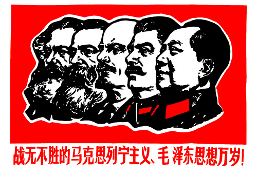 The history of Communism seen as a decline in face hair. The long march from the beard to the bare.