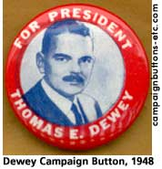 Civil-rightist Republican from NY, Tom Dewey is the major presidential candidate to host a mustache.