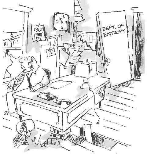 Famous entropy cartoon, Harris