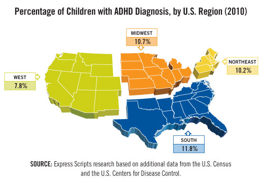the state of attention deficit disorder in united states Conclusion: medicaid policies on adhd medication treatment are diverse some  policies are tied to  in 2011, 64 million us children aged 4-17 had received a   1 cherokee nation assurance, public health law program, office for state.