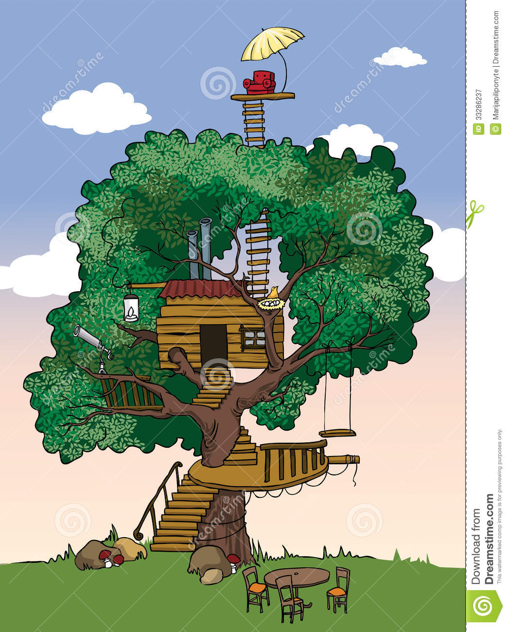 clipart pictures tree house - photo #41