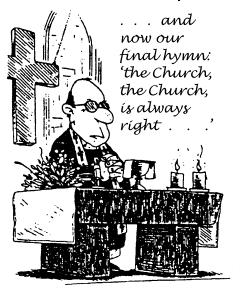 Church groups don't often look favorably on oversight
