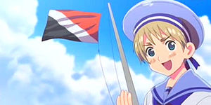Sealand is a recurring character in the Japanese manga, Hitalia -- dedicated to the more bizarre quirks of history, each country is represented by a character.