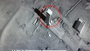 Iranian intercontinental ballistic missile, several stories high, brought out during negotiations. Should easily deliver nuclear weapons far beyond Israel, and even to the USA.