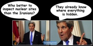 Kerry on why we give Iran the ability to self-inspect.