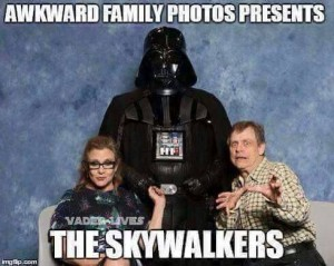 This is a meme on Facebook, don't know who did it, but clearly relevant to Star Wars 7.