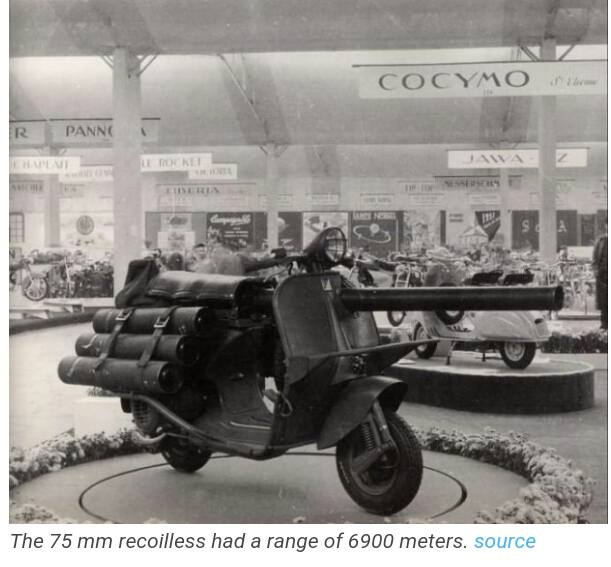 French Blitzkrieg Vespa used in Vietnam