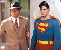 Superman's costume, like Clark's, is mostly affect.